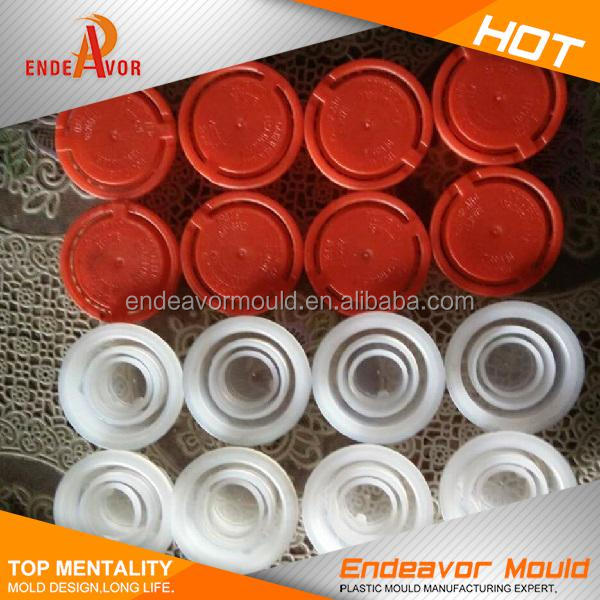 10 years no complain transparent engine oil bottle cap mould