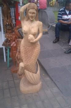 Amazon Mermaid Buy Wooden Mermaid Statues Product On Alibabacom