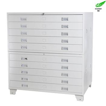 Genial Office Multi Drawer Plan Filing Map Cabinet Metal Storage Cabinets