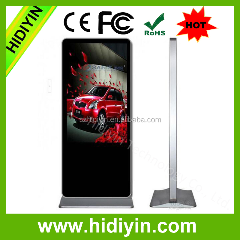 ISO9001 factory price 49 inch 4k Commercial Standing LCD indoor outdoor led digital signage