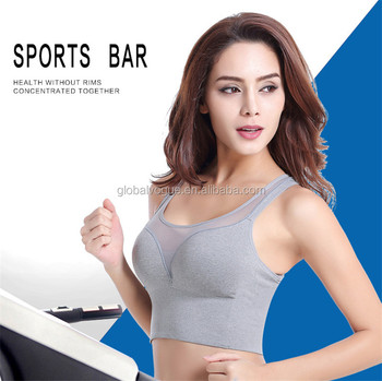 3edfd4228a Professional Sports Mesh Fitness Women Yoga Top Sexy Push-up Sports Bra Yoga  Fitness Vest