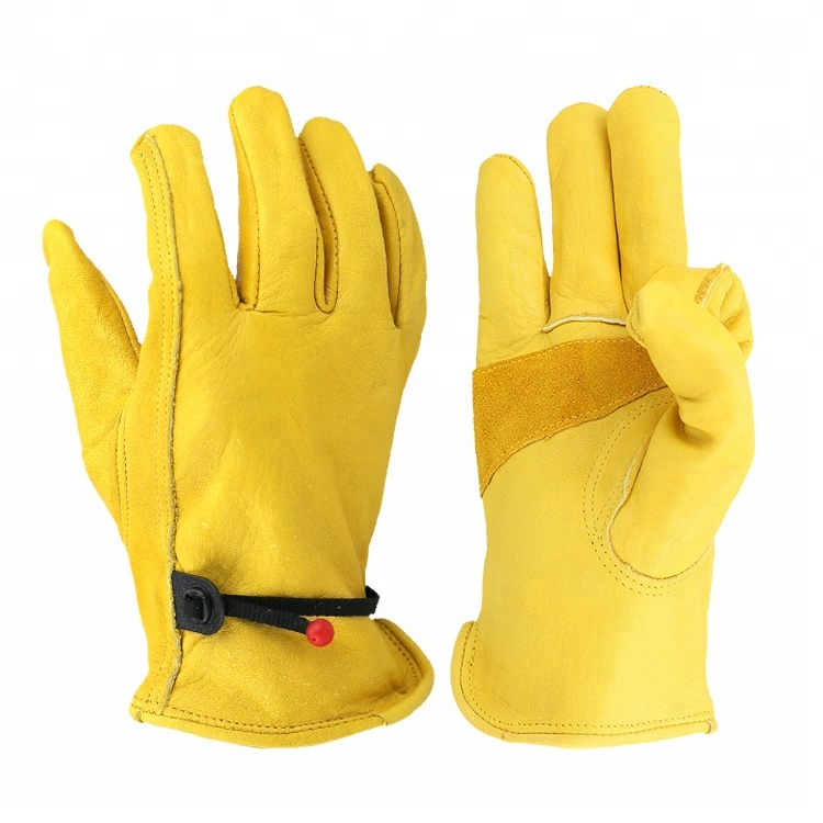 Worker suit gloves furniture leather safety work gloves bulk prices