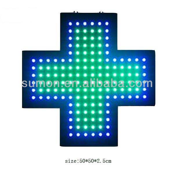 led cross <strong>sign</strong>