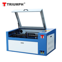 Triumph a4 paper cnc co2 laser cutting machine price with high precision (CE/FDA certification)