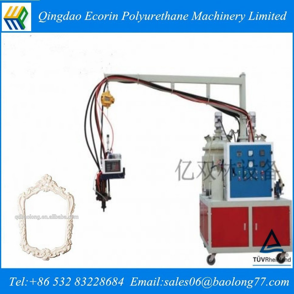 Low Pressure Pu Foam Injection Moulding Machine / Photo Frame ...