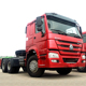 china howo tractor truck HOWO 371HP 6*4 tractor head truck for sale