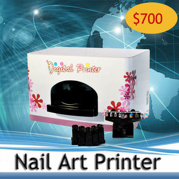 Directly Printing Machine--Hot SellingDigital Nail Printer Automatic Five Nails Art Printing Machine-Best Printer
