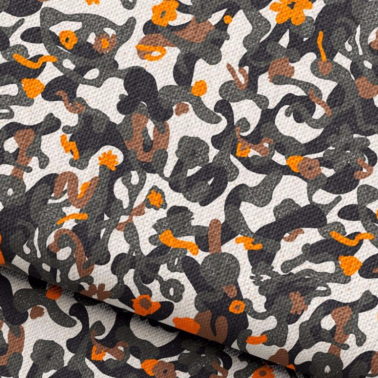 100% Polyester Material Brushed Camouflage Printed Fabric