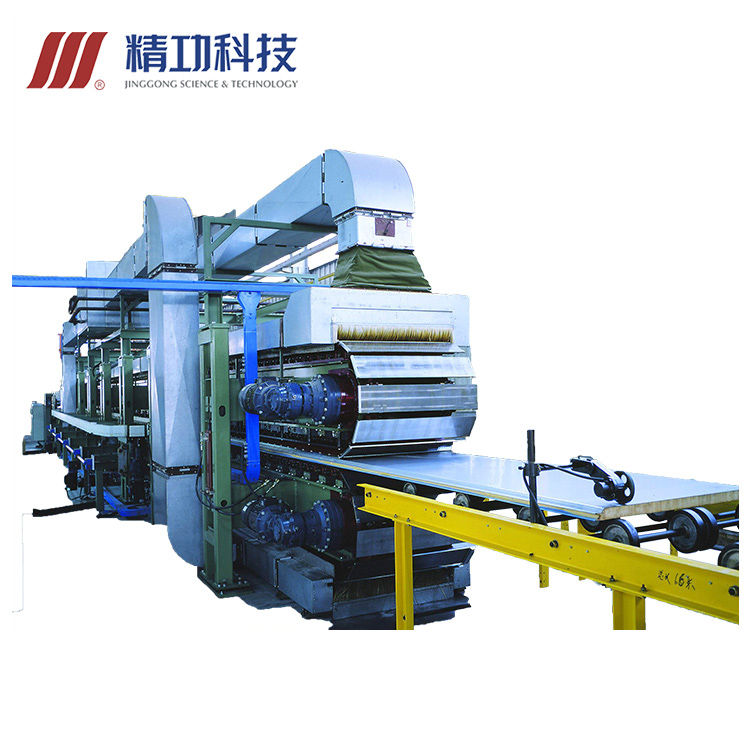 2019 best selling oprechte steenwol PU sandwich panelen productielijn sandwich panel machine