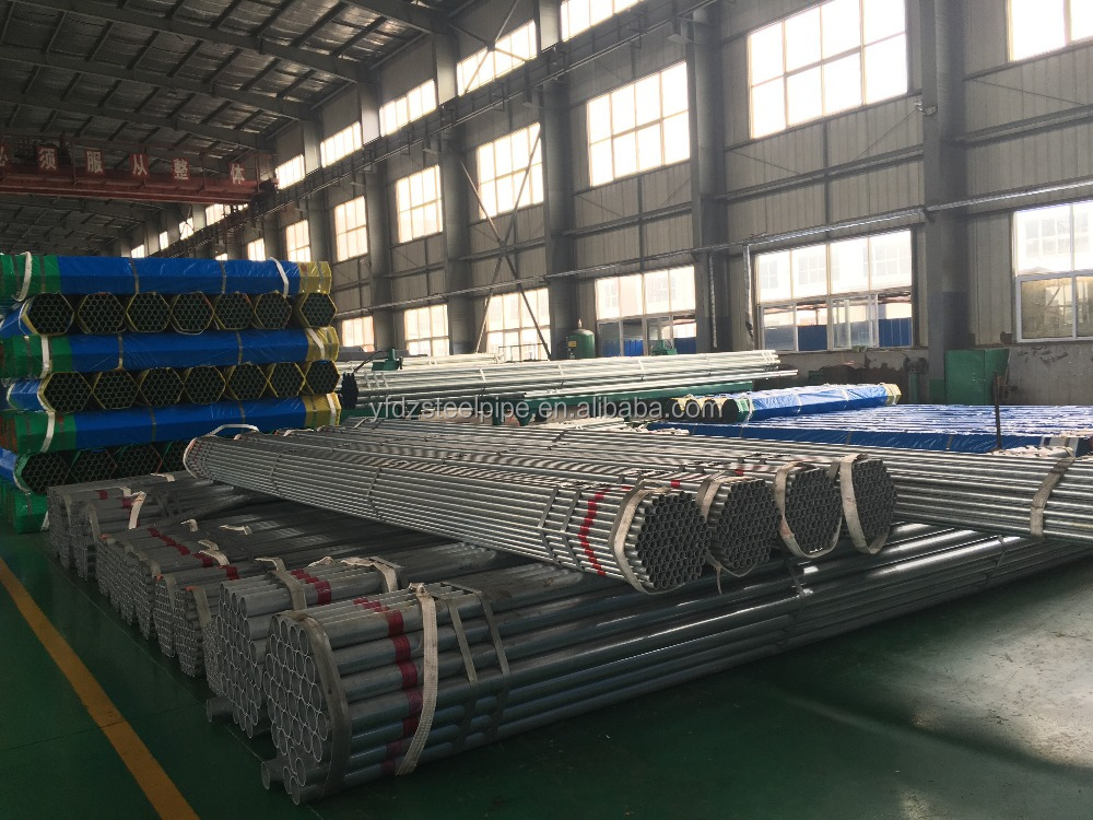 SALE CHAMPION IN CHINA! YOUFA brand GI steel pipe hot dipped galvanized steel pipe
