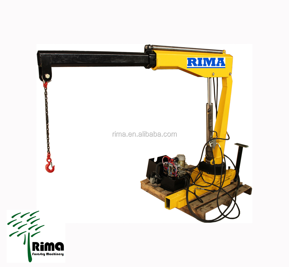 The Hydraulic Crane Is Used To Lift The 1400 : Hydraulic crane for pickup buy small