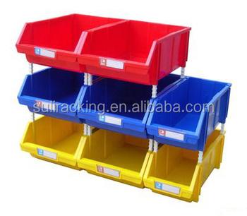 Electronic Spare Parts Plastic Storage Bo Bins