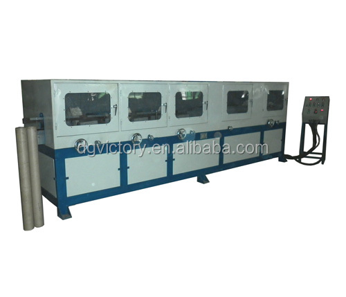 high speed high quality finish paper core paper pipe polishing machine
