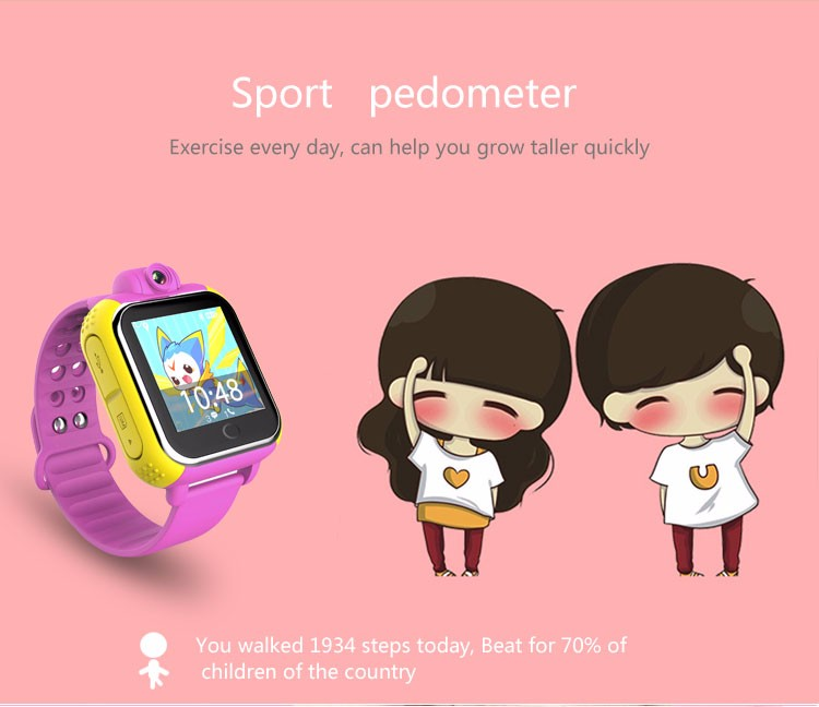 Oem Factory 3g Gsm Gps Smart Watch With Rotatable Camera And Wiki Q&a  Interface For Children - Buy 3g Gsm Gps Smart Watch,3g Smart Watch With