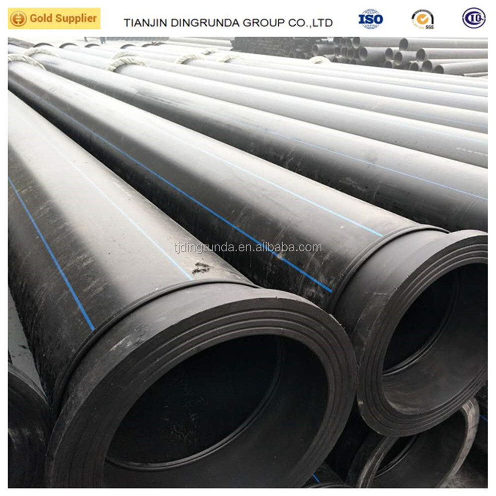 ASTM standard black color water supply hot pipes