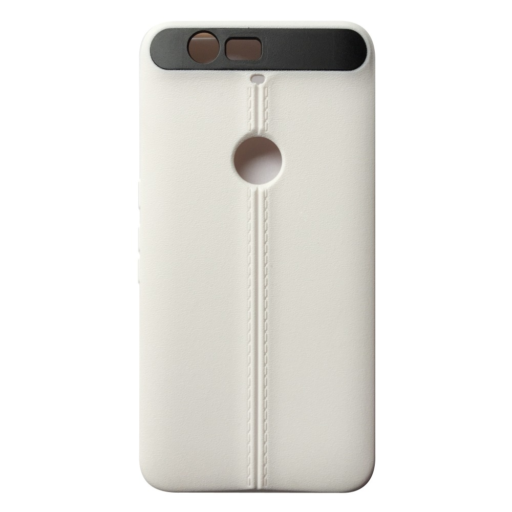 TPU Holster For huawei Nexus 6P Unique Double Line Back Case Cover