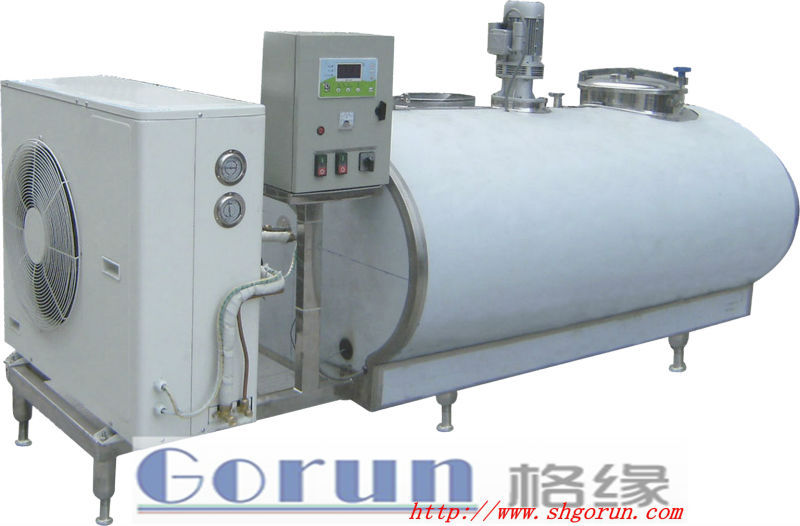 Used Dairy Stainless Steel Milk Tanks/high Quality Direct Cooling ...