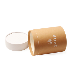Promotional Cylinder Cardboard Kraft Paper Tube Box for packaging