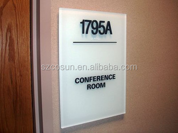 Hotel Interior Room ID and ADA Signs