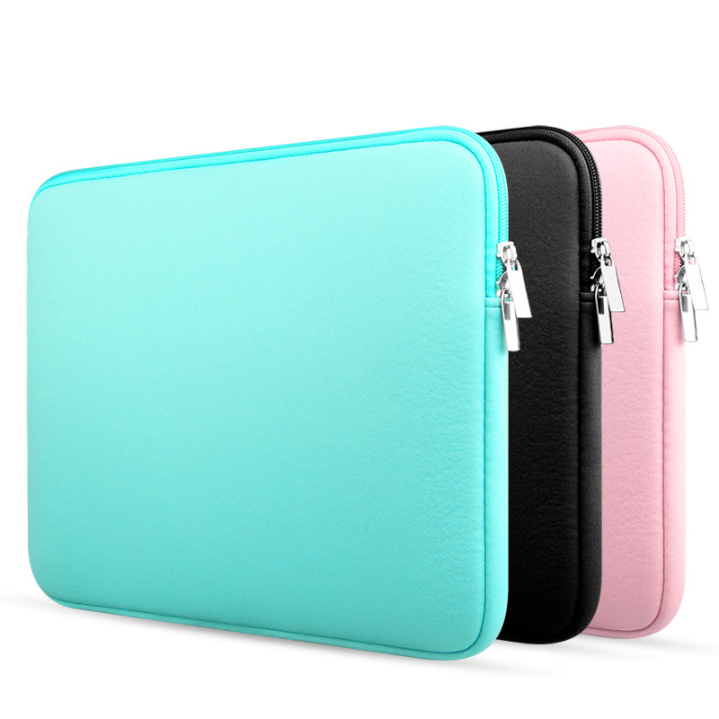 980e2f4a58e9 Fashion new 11 13 14 15 Neoprene Laptop Bag Tablet Sleeve Pouch Bag For  Notebook Computer Bag 13.3 15.4 For Macbook Air / Pro