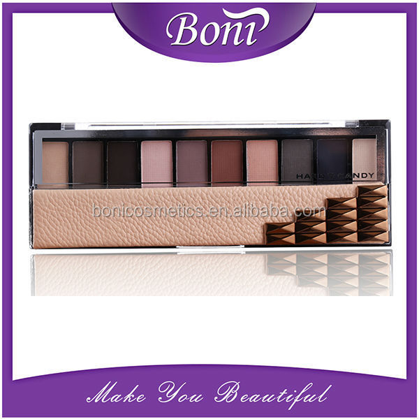Private lable makeup accept wholesale 10colors eye shadow