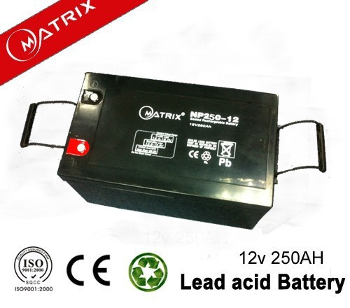 2 pieces 12v 250ah solar battery 12v 500ah