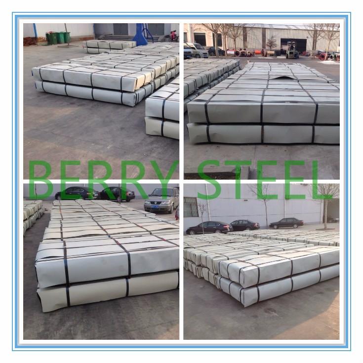 Corrugation Ppgi Color Coated Aluzinc Galvalume Steel