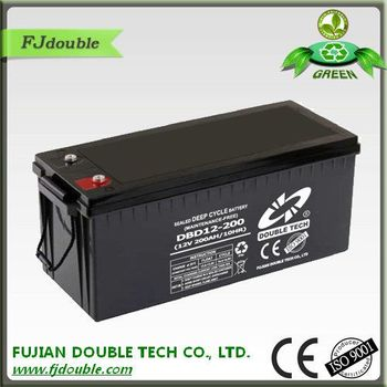Solar Panel Battery Bank >> 12v Solar Batteries Sealed Maintenance Free 12v 200ah For Solar