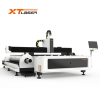 carbon steel/stainless steel/aluminum/brass metal sheet pipe laser cutting machine