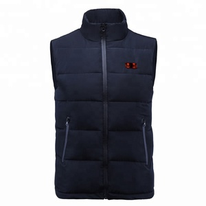 2018 Custom Dual Zone seperate Control Wholesale No Brand Winter women's heated vest