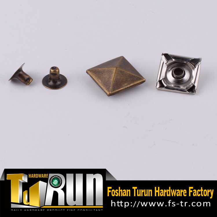 Pcb contact ss copper square rivets