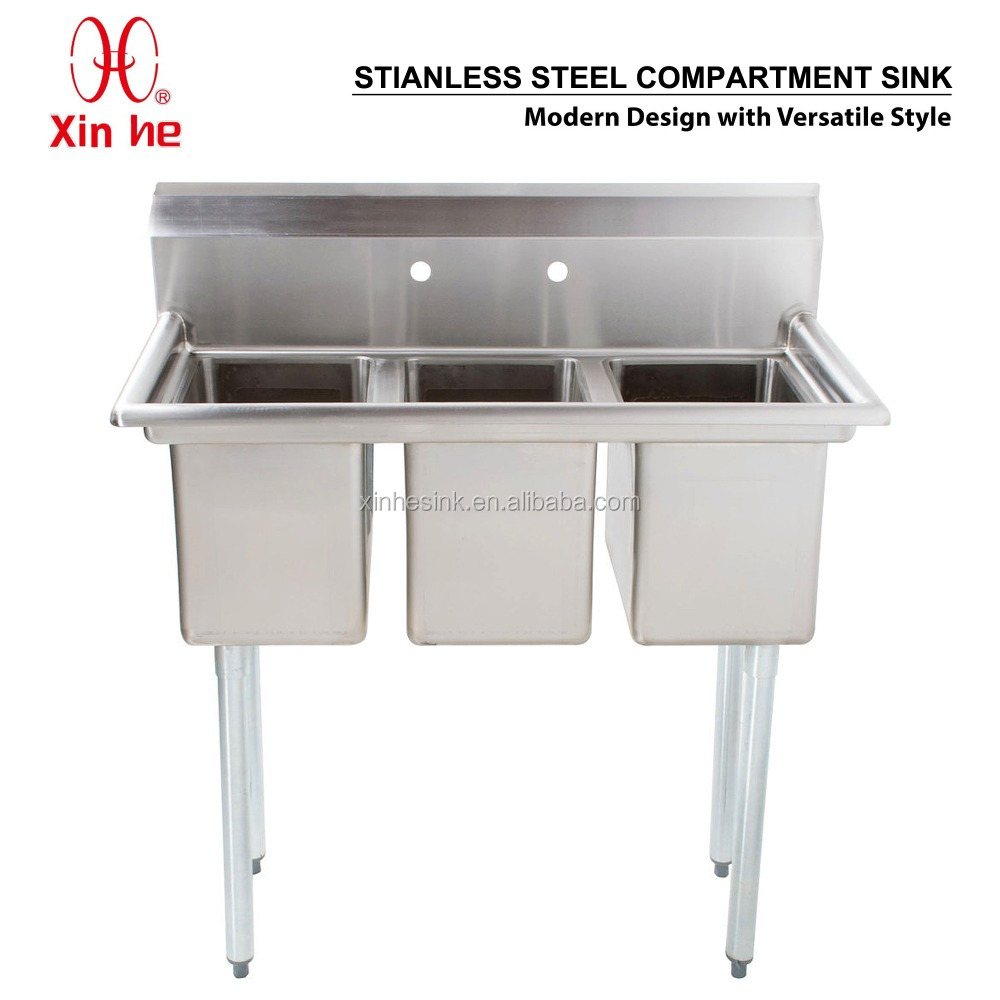 commercial 3 three bowl stainless steel compartment sink commercial 3 three bowl stainless steel compartment sink suppliers and at alibaba