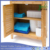 High quality bamboo Kitchen Living room Towel shelf Plant shelf Bathroom Cabinet Cupboard
