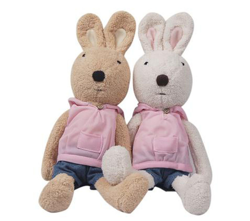 Hot selling 30/45/60 cm le sucre rabbit doll toys cute rabbit toy plush Soft Stuffed Animal Plush Toys for kids Girlfriend Gift