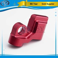 galvanized powder coating cnc motorcycle parts/ precision metal machining for auto