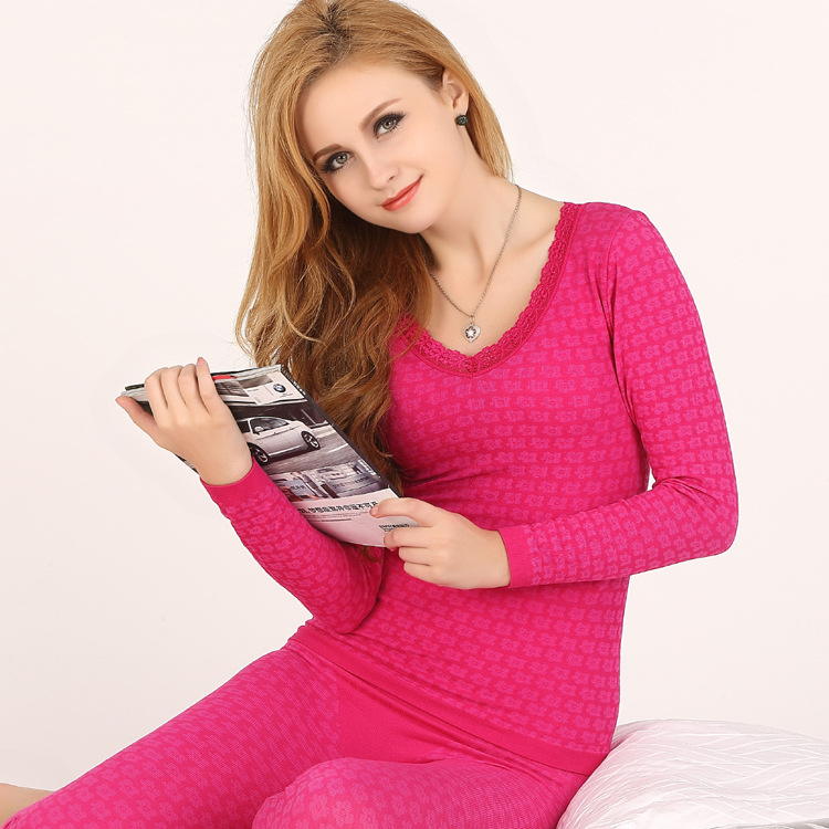 Cheap Women Thermal Underwear Set 41f18e0bd3ba