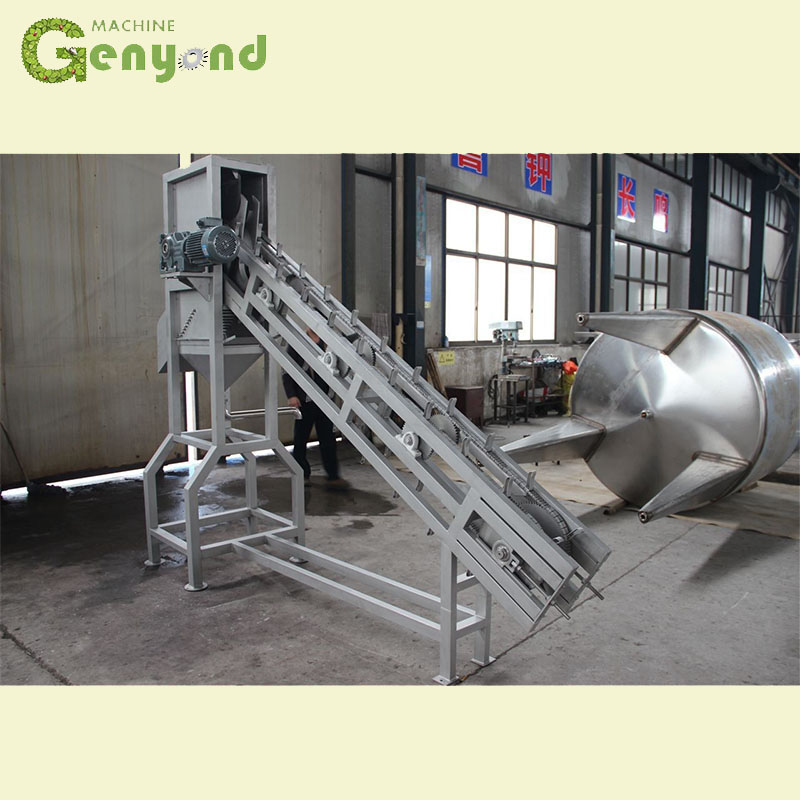 Best Price oil extract automatic coconut peeling machine wash trimming sugar processing machine