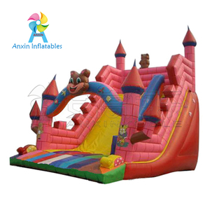 red castle type comercial inflatable slides supplier