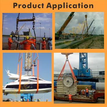 50 Ton Webbing Slings Container Lifting Belt - Buy Container Lifting