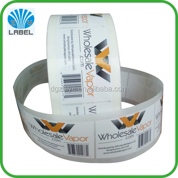 Wholesale roll packaging colour label printer , custom personal label sticker