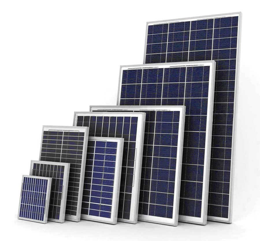 A kit with Solar Penal and inverter for 260 solar system