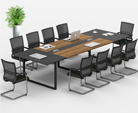 Modern 12 person conference table