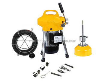 250w 4 Quot Electric Drill Pipe Cleaning Drain Cleaner Machine
