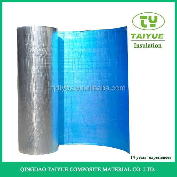 Taiyue Energy Saving Aluminum Foil Heat Insulation for roof wall projects