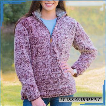 beb4536c5 Wholesale 1/4 Zipper Sherpa Fleece Pullover For Women - Buy Sherpa Fleece  Pullover,Thick Fleece Pullover,1/4 Zip Fleece Pullover Product on ...