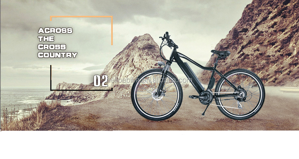 High quality 36v 350w 27.5'' full suspension aluminum alloy 6061 mountain electric bike