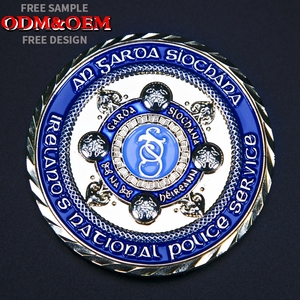 Factory Price Metal Copper Stamping Dies Custom Challenge Coins with Logo  for Collectible 3d metal challenge coin