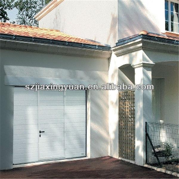Commercial Steel Sectional Garage Door With Small P Through Vinyl Doors Product On Alibaba