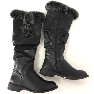 Factory wholesale top quality fashionable security ladies boots