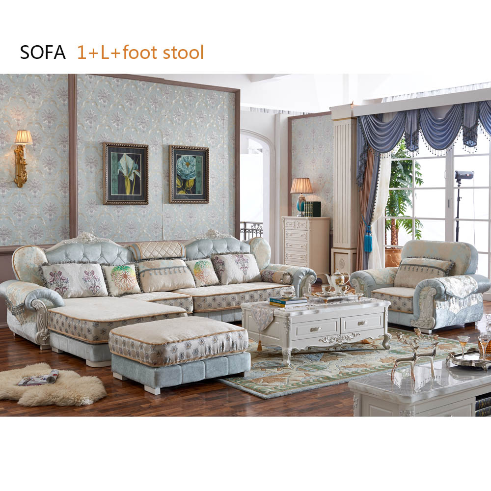 Antique Design Top Living Room Sofa European Design Navy Blue Fabric Sofa  Set - Buy Blue Sofa,Fabric Sofa,European Style Sofa Product on Alibaba.com